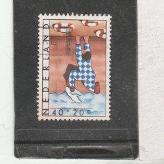 Sellos: HOLANDA 1977 - YVERT NRO. 1080- USADO. Lote 191187828
