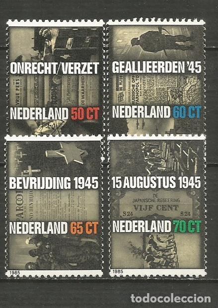 HOLANDA YVERT NUM. 1240/1243 ** SERIE COMPLETA SIN FIJASELLOS (Sellos - Extranjero - Europa - Holanda)