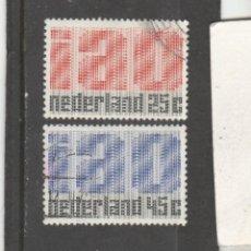 Sellos: HOLANDA 1969 - YVERT NRO. 886-87 - USADOS -. Lote 194766695