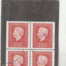 Sellos: HOLANDA 1969 - YVERT NRO. 882- BQ.4 - USADO -. Lote 194767703