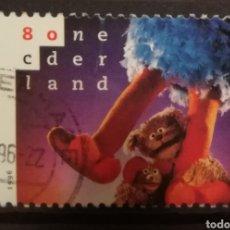 Sellos: HOLANDA - SESAME STREET 1996 - YVERT 1553. Lote 195247748