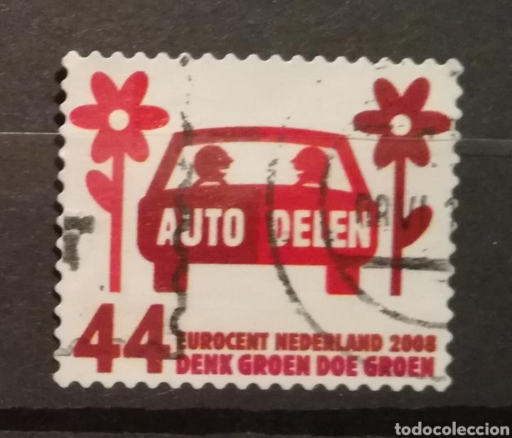 HOLANDA - THINK GREEN DO GREEN 2008 - YVERT 2482 (Sellos - Extranjero - Europa - Holanda)