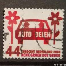 Sellos: HOLANDA - THINK GREEN DO GREEN 2008 - YVERT 2482. Lote 195247817