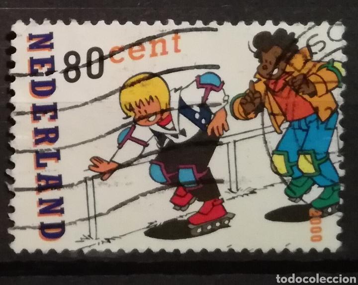 HOLANDA - COMICS 2000 - YVERT 1789 (Sellos - Extranjero - Europa - Holanda)