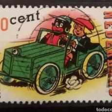 Sellos: HOLANDA - COMICS 2000 - YVERT 1790. Lote 195247856