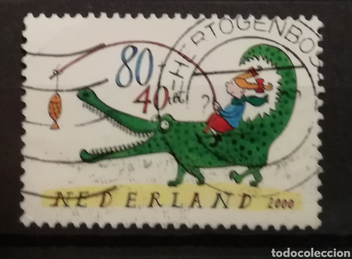 Sellos: HOLANDA - CHILDREN STAMPS 2000 - YVERT 1803 - Foto 1 - 195247895
