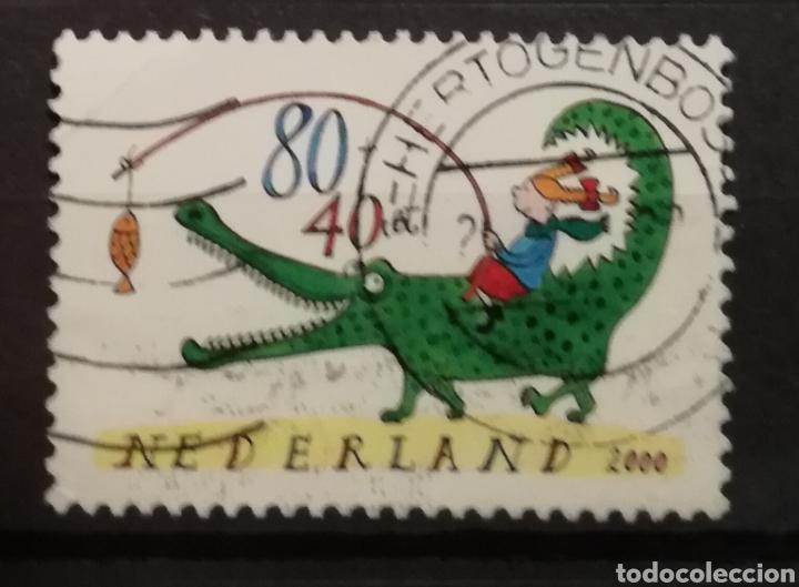 HOLANDA - CHILDREN STAMPS 2000 - YVERT 1803 (Sellos - Extranjero - Europa - Holanda)
