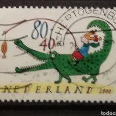 Sellos: HOLANDA - CHILDREN STAMPS 2000 - YVERT 1803. Lote 195247895