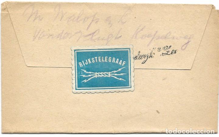 TELEGRAMA DE ROTTERDAM A NOORDWIJK AAN ZEE AÑO 1916 - PRIMERA GUERRA MUNDIAL - SELLO RIJKSTELEGRAAF (Sellos - Extranjero - Europa - Holanda)