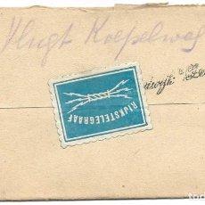 Sellos: TELEGRAMA DE ROTTERDAM A NOORDWIJK AAN ZEE AÑO 1916 - PRIMERA GUERRA MUNDIAL - SELLO RIJKSTELEGRAAF. Lote 196287527