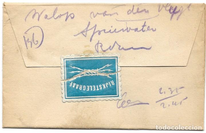 TELEGRAMA DE UTREEHT A ROTTERDAM AÑO 1915 - PRIMERA GUERRA MUNDIAL - SELLO RIJKSTELEGRAAF (Sellos - Extranjero - Europa - Holanda)
