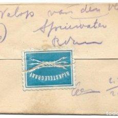 Sellos: TELEGRAMA DE UTREEHT A ROTTERDAM AÑO 1915 - PRIMERA GUERRA MUNDIAL - SELLO RIJKSTELEGRAAF. Lote 196287975