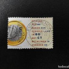 Sellos: HOLANDA 1999. 1 EURO COIN. YT:NL 1677, (178). Lote 210729556