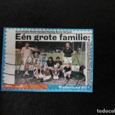 Sellos: HOLANDA 1998. ROYAL HOCKEY ASSOCIATION. YT:NL 1630. (247). Lote 198368301