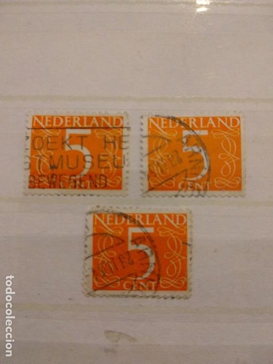 SELLOS USADOS DE HOLANDA (Sellos - Extranjero - Europa - Holanda)