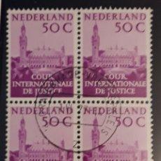 Sellos: SELLO HOLANDA 1977 TRIBUNAL DE LA HAYA. Lote 198879648