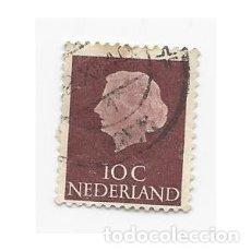 Sellos: SELLO HOLANDA PAÍSES BAJOS NEDERLAND REINA JULIANA 10 C. Lote 205032596
