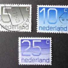 Sellos: 1976 HOLANDA NÚMEROS. Lote 205325125