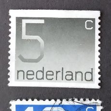 Sellos: 1976 HOLANDA NÚMEROS. Lote 205325220
