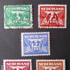 Sellos: 1941 HOLANDA NÚMEROS. Lote 205325822