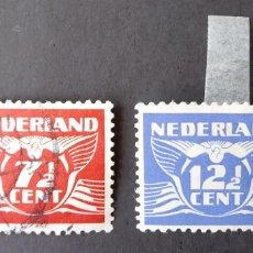 Sellos: 1941 HOLANDA NÚMEROS. Lote 205326007