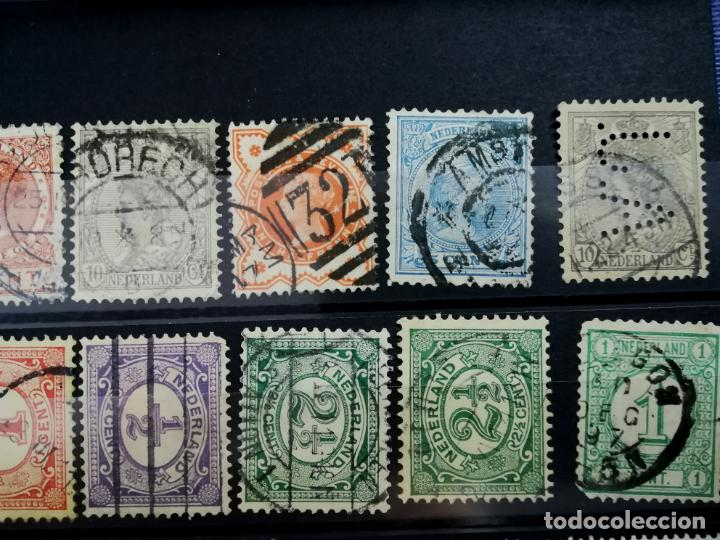 Sellos: Lote sellos Holanda Nederland usado 1891 - 1979 - Foto 2 - 205389096