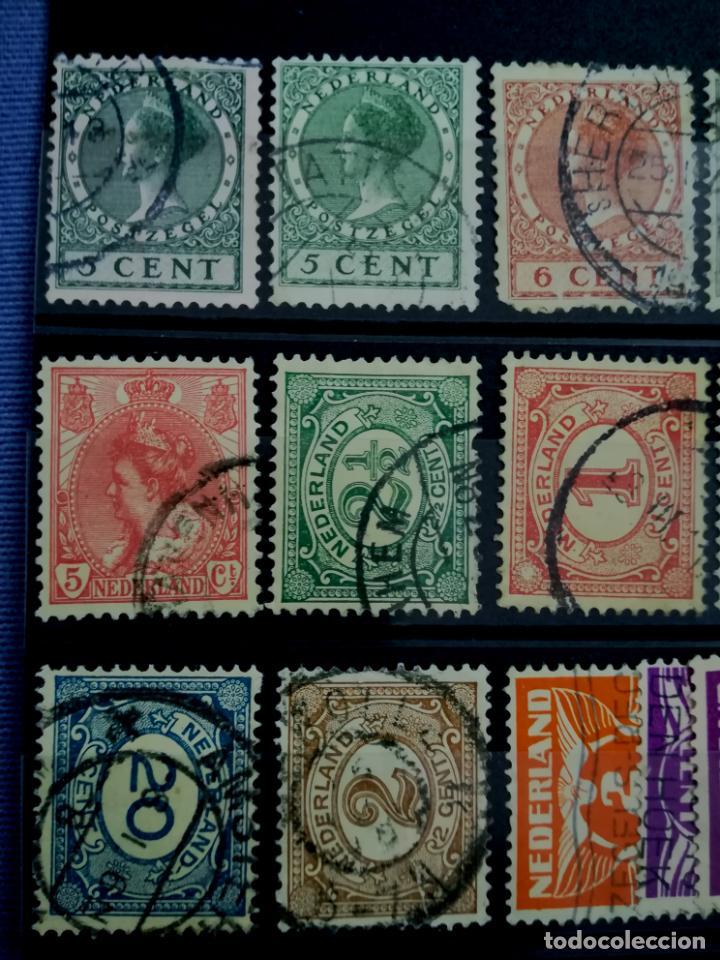 Sellos: Lote sellos Holanda Nederland usado 1891 - 1979 - Foto 3 - 205389096