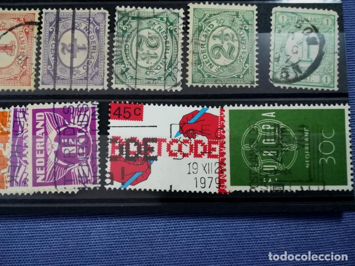 Sellos: Lote sellos Holanda Nederland usado 1891 - 1979 - Foto 4 - 205389096