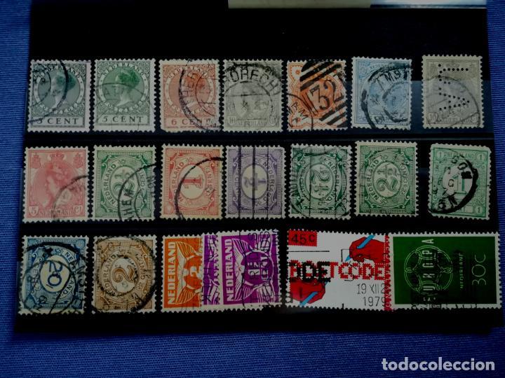 Sellos: Lote sellos Holanda Nederland usado 1891 - 1979 - Foto 5 - 205389096