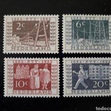 Sellos: HOLANDA YVERT 578/81 SERIE COMPLETA NUEVA ***. CENTENARIO DE LOS CORREOS HOLANDESES. Lote 210270240