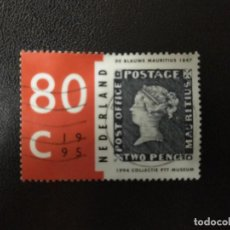 Sellos: HOLANDA AÑO 1995. PURCHASE OF THE BLUE MAURITIUS. MI:NL 1534, (1805). Lote 211820820