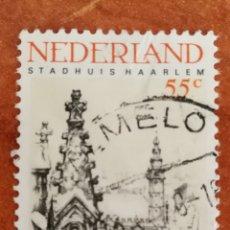Sellos: HOLANDA, EUROPA CEPT 1978 USADO (FOTOGRAFÍA REAL). Lote 213603682