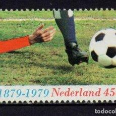Sellos: HOLANDA. NEDERLAND. YVERT 1114. CENTENARIO DEL FUTBOL EN HOLANDA. Lote 216372095