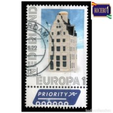 Sellos: HOLANDA PAISES BAJOS 2012. MICHEL 2940, YVERT 2867. EUROPA. CASA DE DRIE HARINGEN, DEVENTER. USADO. Lote 218505188