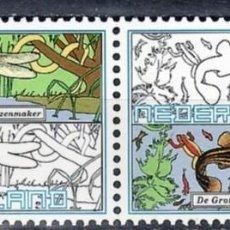 Sellos: SELLOS FAUNA HOLANDA PAISES BAJOS 2000 1796/97 2V. B. Lote 218791342