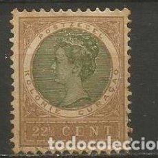 Sellos: CURAZAO COLONIA HOLANDESA YVERT NUM. 38 USADO. Lote 220571601