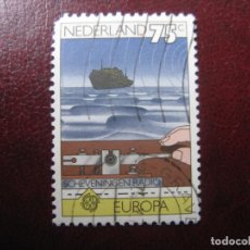 Sellos: +HOLANDA, 1979, EUROPA, YVERT 1112. Lote 221815751