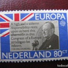 Sellos: +HOLANDA, 1980,EUROPA, YVERT 1139. Lote 221815926
