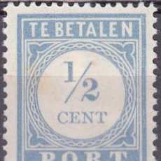 Sellos: 1912 - HOLANDA - YVERT 44 - TASA. Lote 221873495