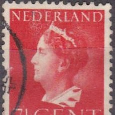 Sellos: 1940 - HOLANDA - REINA GUILLERMINA - YVERT 333. Lote 221877522