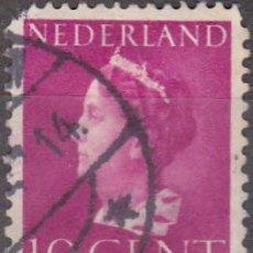 Sellos: 1940 - HOLANDA - REINA GUILLERMINA - YVERT 334. Lote 221877560