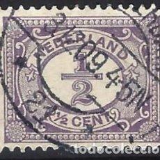 Timbres: PAISES BAJOS 1899 - NUEVOS SELLOS DE DIARIO - USADO. Lote 227670525