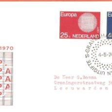 Sellos: SPD -FDC HOLANDA, TEMA EUROPA 1970. Lote 229580970