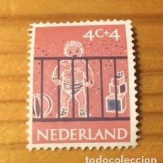 Sellos: SELLO NEDERLAND NUEVO, 1959 OBRA POR LA INFANCIA. Lote 235132530