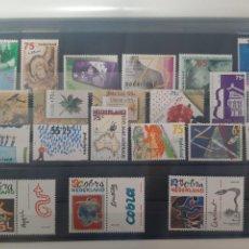 Sellos: SELLOS HOLANDA AÑO 1988 COMPLETO 21 VALORES NUEVOS GOMA. Lote 236159270