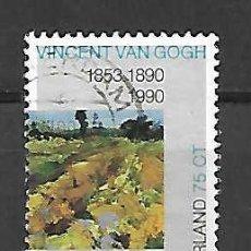 Sellos: VAN GOGH,VINCENT (1853-90) PINTOR . SELLO AÑO 1990. Lote 244754400