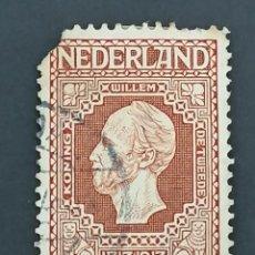 Sellos: HOLANDA, YVERT 87, 1913, DEFECTUOSO. Lote 244844615