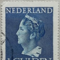 Sellos: 1946. HOLANDA. 442. RETRATO DE LA REINA GUILLERMINA. USADO.. Lote 244869590