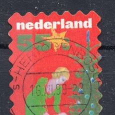 Sellos: HOLANDA , 1999 , MICHEL 1762. Lote 245292580