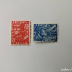 Sellos: LEGIÓN HOLANDESA YVERT 393/394 DEL AÑO 1942 NUEVO**. Lote 269482823
